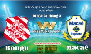 01g30ngày 31/3: Bangu vs Macae