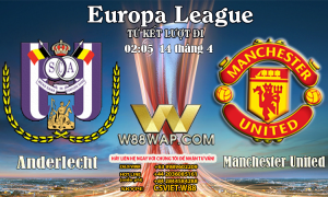 02:05 NGÀY 14/4: Anderlecht vs Man United.