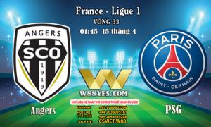 01:45 NGÀY 15/4: Angers vs PSG