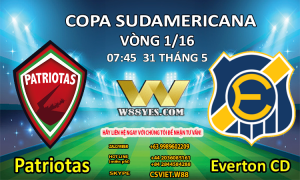 SOI KÈO: 07:45 NGÀY 31/5:  Patriotas vs Everton CD.