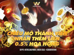 Read more about the article CHIÊU MỘ THÀNH VIÊN NHẬN THÊM LIỀN 0,5% HOA HỒNG