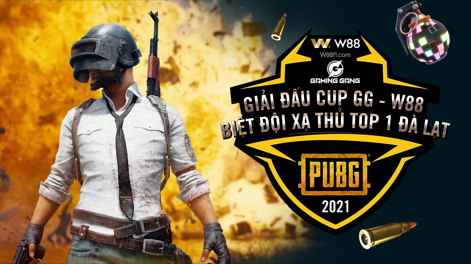 GIẢI ĐẤU PUBG CUP W88 – GAMING GANG KẾT THÚC TỐT ĐẸP!