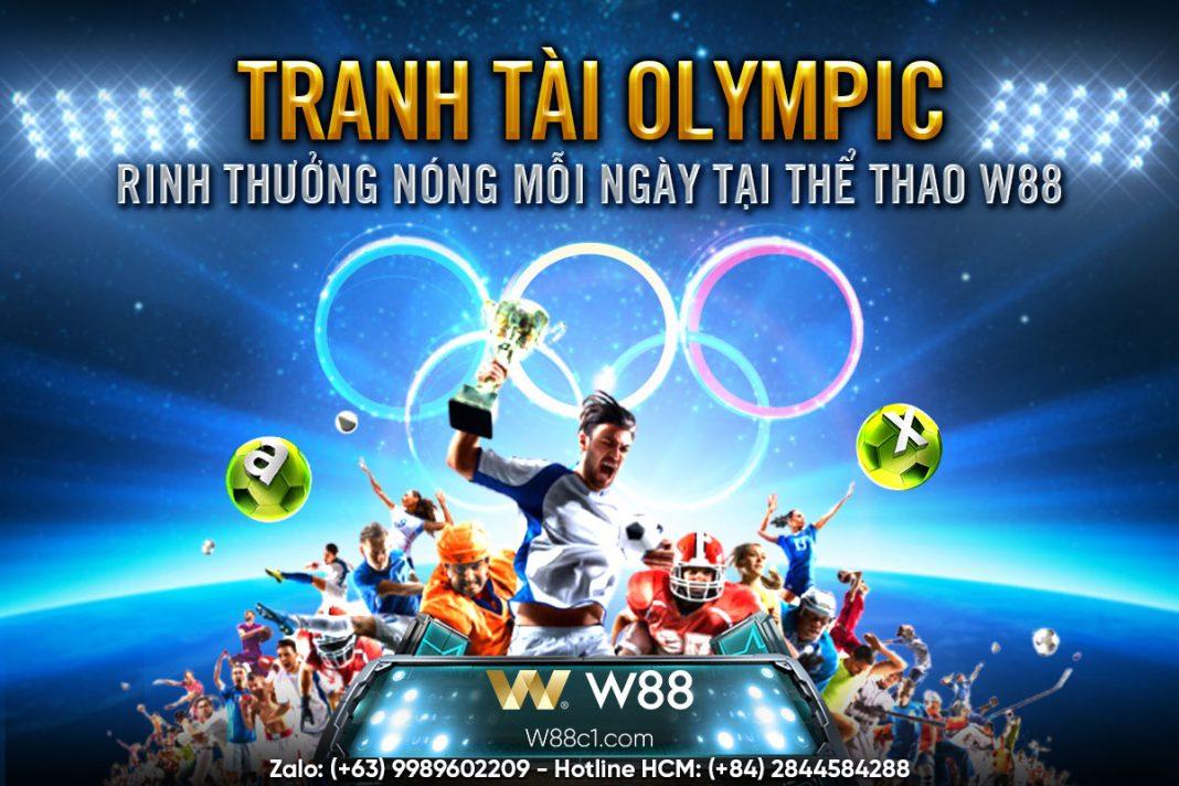 You are currently viewing TRANH TÀI OLYMPIC – RINH THƯỞNG NÓNG MỖI NGÀY TẠI THỂ THAO W88