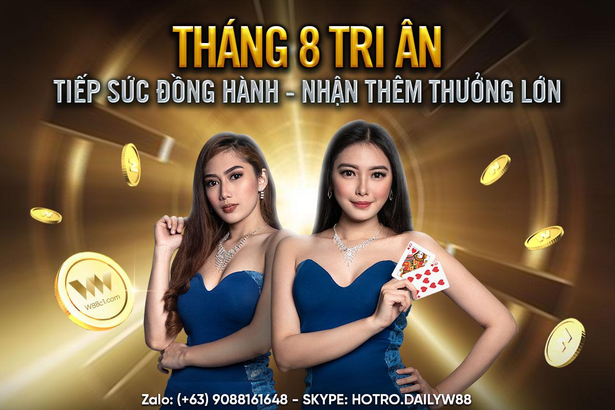 You are currently viewing THÁNG 8 TRI ÂN –  TIẾP SỨC ĐỒNG HÀNH – NHẬN THÊM THƯỞNG LỚN