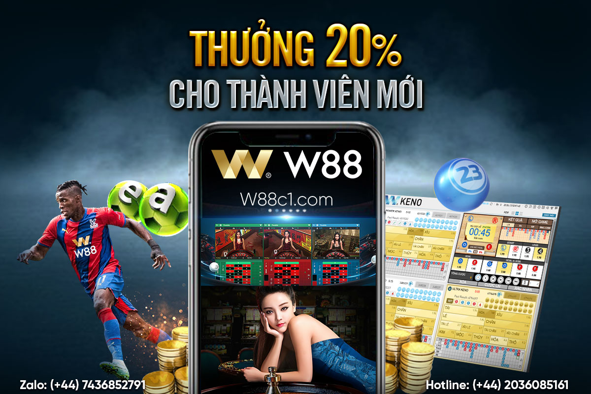 You are currently viewing THƯỞNG 20% CHO THÀNH VIÊN MỚI!