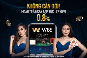 Read more about the article KHÔNG CẦN ĐỢI! HOÀN TRẢ NGAY LẬP TỨC LÊN ĐẾN 0.8%