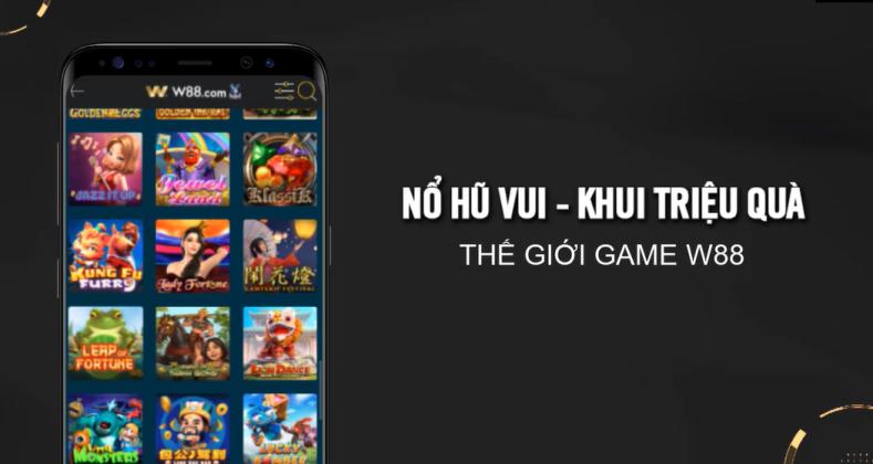 Read more about the article [W88] NỔ HŨ VUI – KHUI TRIỆU QUÀ | THẮNG LỚN VỚI NHỮNG GAME SLOTS CỰC KỲ HẤP DẪN CỦA W88