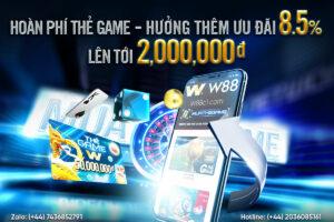 Read more about the article HOÀN PHÍ THẺ GAME – HƯỞNG THÊM ƯU ĐÃI 8.5% TỚI 2 TRIỆU MỖI NGÀY